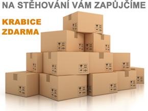 Krabice zdarma